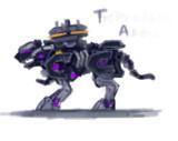 ドライパンサー TA 塗装イメージ