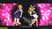 【MMD】魔理沙とアリスのGimme×Gimme【ミニスカ改変モデル?】