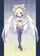 天使の羽風ストール