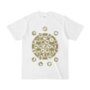 シンプルデザインTシャツ M_Ladybird(OLIVE)
