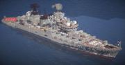 RON CG-931 【石狩級打撃巡洋艦】