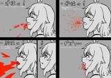 口から出る血