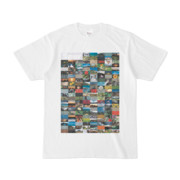 シンプルデザインTシャツ Spur=170(LAVENDER)