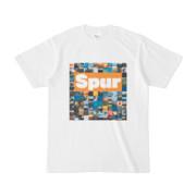 シンプルデザインTシャツ Spur_BOX104(ORANGE)