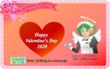 JR8DAGのAM & QRP ホームページの壁紙(バレンタインデー2020)