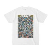 シンプルデザインTシャツ TANKER_300(OLIVE)