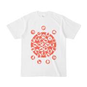 シンプルデザインTシャツ M_Ladybird(TOMATO)