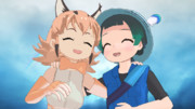 【MMDけもフレ】カラカル&キュルル【MMD】