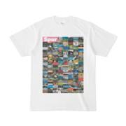 シンプルデザインTシャツ Spur=170(VIOLET)