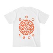 シンプルデザインTシャツ M_Ladybird(CHOCOLATE)