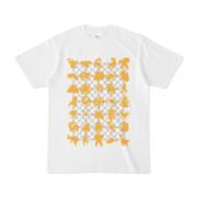 シンプルデザインTシャツ NET35☆MONSTER(GOLD)