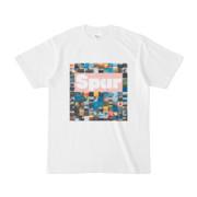 シンプルデザインTシャツ Spur_BOX104(PINK)