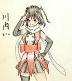 川内さんとお絵描き練習