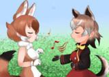 口笛の狩人と歌う犬