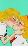 突然魔理沙がキスをした