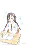 Studying………♪