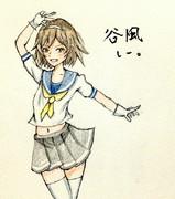 谷風さんとお絵描き練習