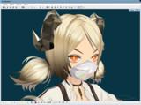 【MMDモデル配布あり】N 95医療用マスクver 1.0