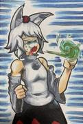 ワサビを食べたmiji