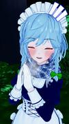 咲夜さんと夜の森でお散歩