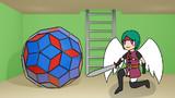 菱形九十面体と天使勇者