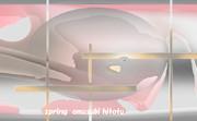 「春 43」※透過効果・彩・おむ08821