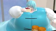 【肥満化】巨漢と化した小傘.bigsize