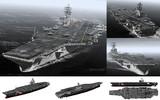 MMD用モブ航空母艦2003(モブッツ級R・モブーガン)セット