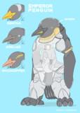 エンペラーペンギンのメカ