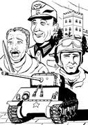 ドイツ国防軍とアメリカ陸軍の共闘~イッター城の戦い