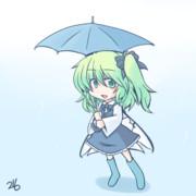 雨雨降れ降れ大ちゃんが