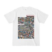 シンプルデザインTシャツ TANKER_on300(MAROON)