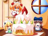 ケーキ【東方三月精】