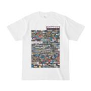 シンプルデザインTシャツ TANKER_on300(PURPLE)