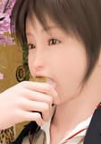 桜餅食うやつ