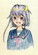 弥生さんとお絵描き練習3