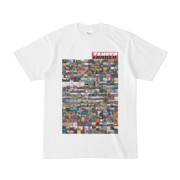 シンプルデザインTシャツ TANKER_on300(CRIMSON)