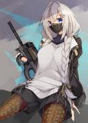 マスクと銃と紲星あかり