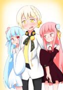 初めての後輩に浮かれる姉妹と弓鶴くん