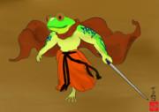 最恐のカエル侍