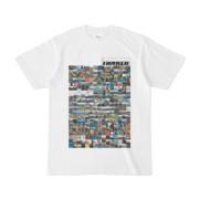 シンプルデザインTシャツ TANKER_on300(SILVER)