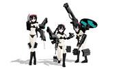 武装三姉妹