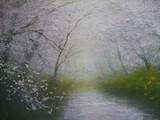 霞を流れる