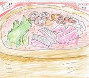 肉とか野菜とか魚をグツグツ煮込んだあれ