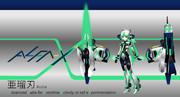 【擬人化】ALFA-X