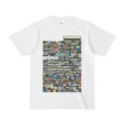シンプルデザインTシャツ TANKER_on300(OLIVE)