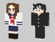 Minecraft からかい上手の高木さん スキン