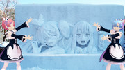 第71回さっぽろ雪まつり【Re:雪ミク】