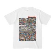 シンプルデザインTシャツ TANKER_on300(TOMATO)