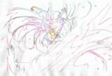 シーンカットの妹紅ちゃん5(色鉛筆